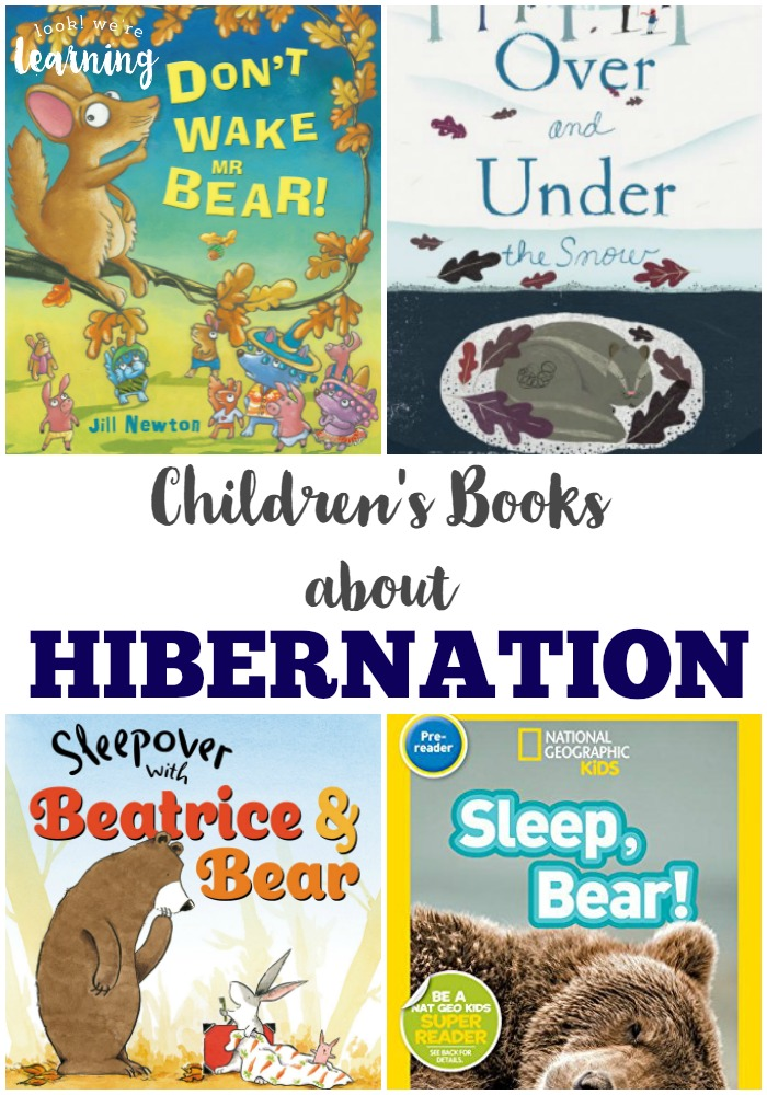 These hibernation books for kids are awesome for studying how animals prepare for winter!