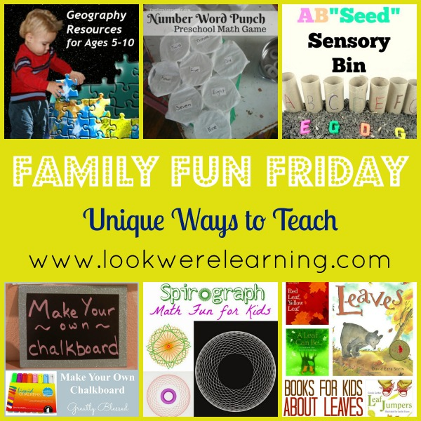 Unique Ways to Teach - Look! We're Learning!