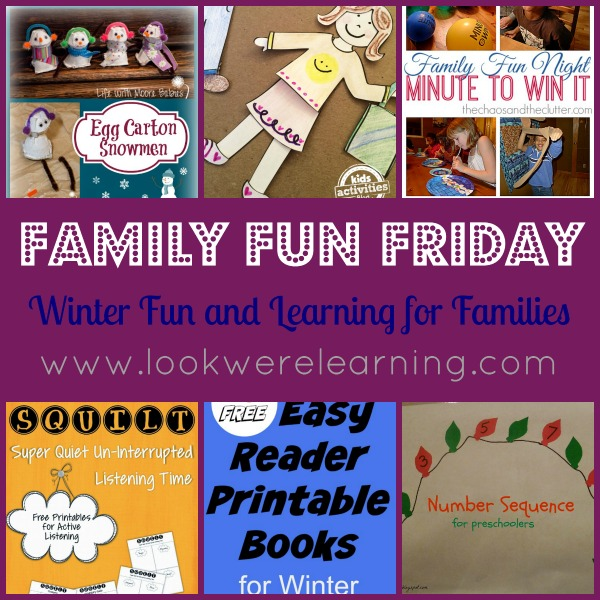 Winter Fun and Learning for Families