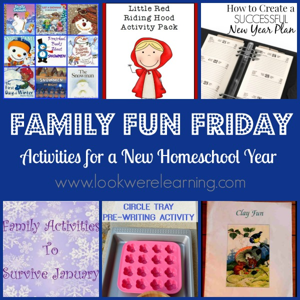 Activities for a New Homeschool Year