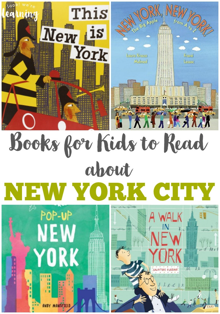 Introduce children to the Big Apple with these beautiful New York City books for kids!