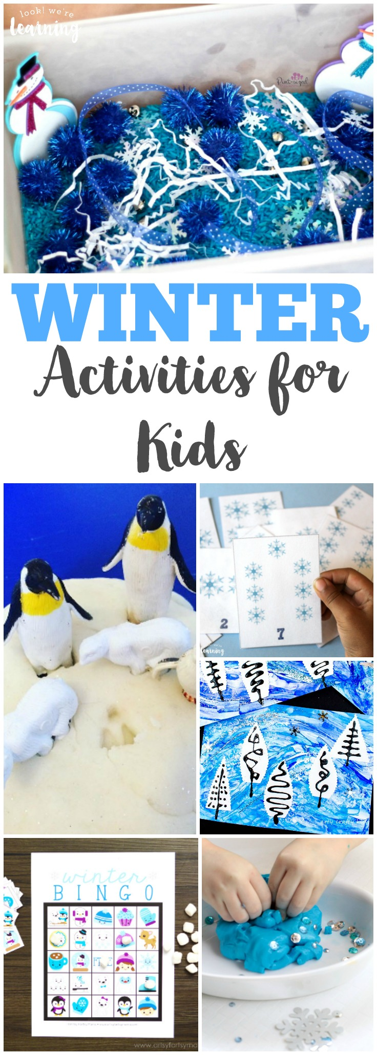 Share some of these fun, hands-on winter activities for kids this year!