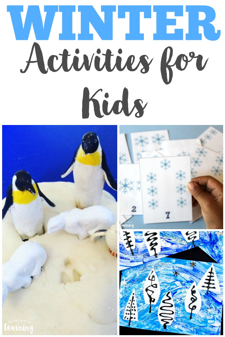 These winter activities for kids are wonderful for sharing some hands-on snowy fun this year!