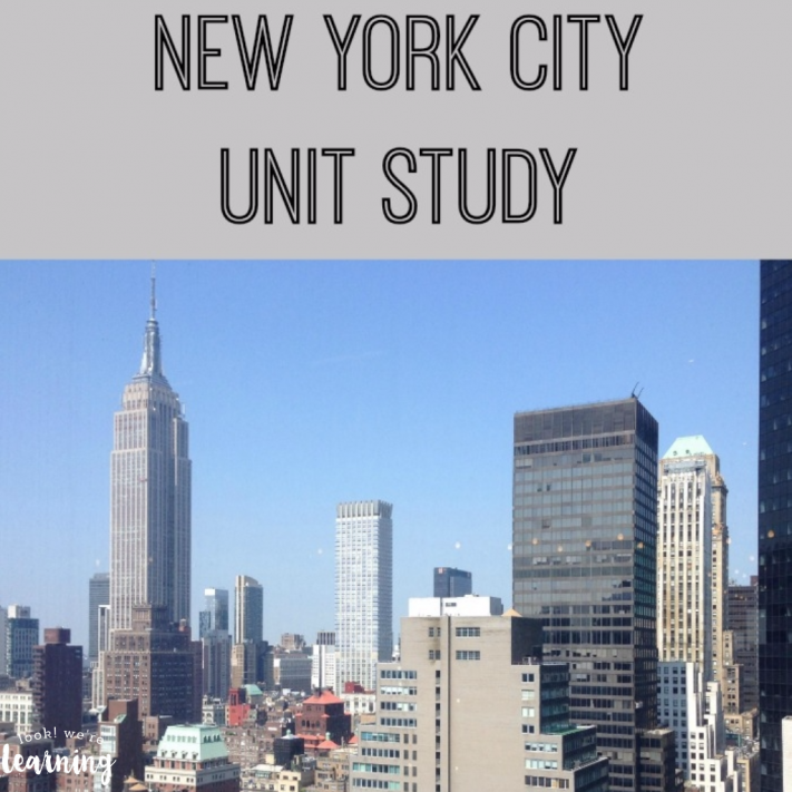 New York City Unit Study for Homeschoolers - Look! We're Learning!