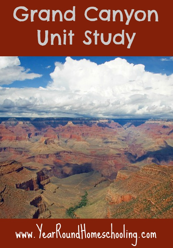 Grand Canyon Unit Study