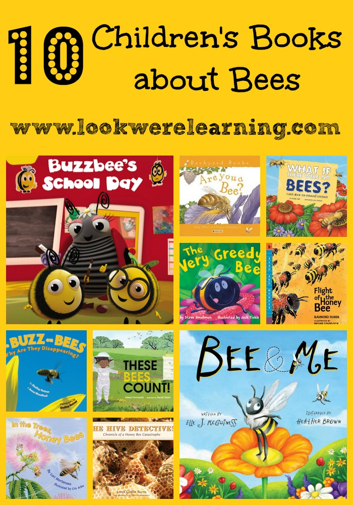 Get ready for spring with these children's books about bees!