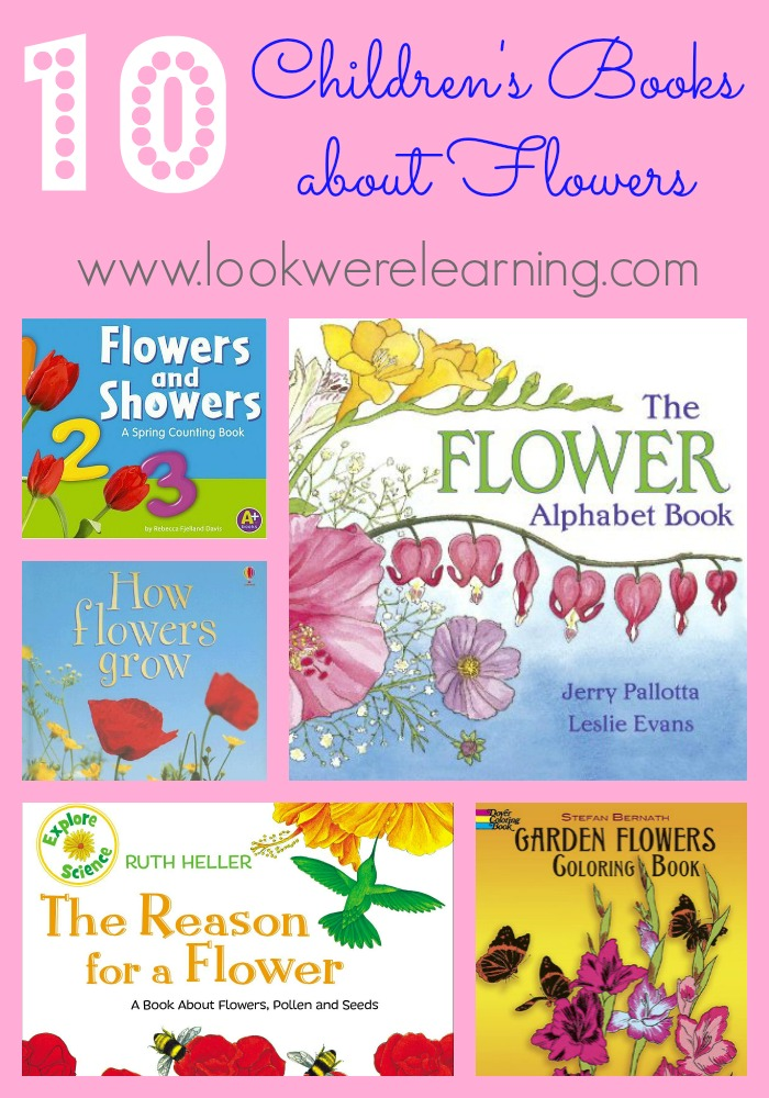10 Children's Books about Flowers
