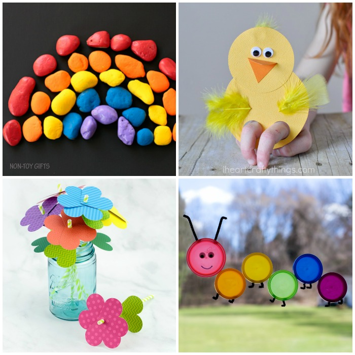 75 Easy Spring Crafts for Kids to Make