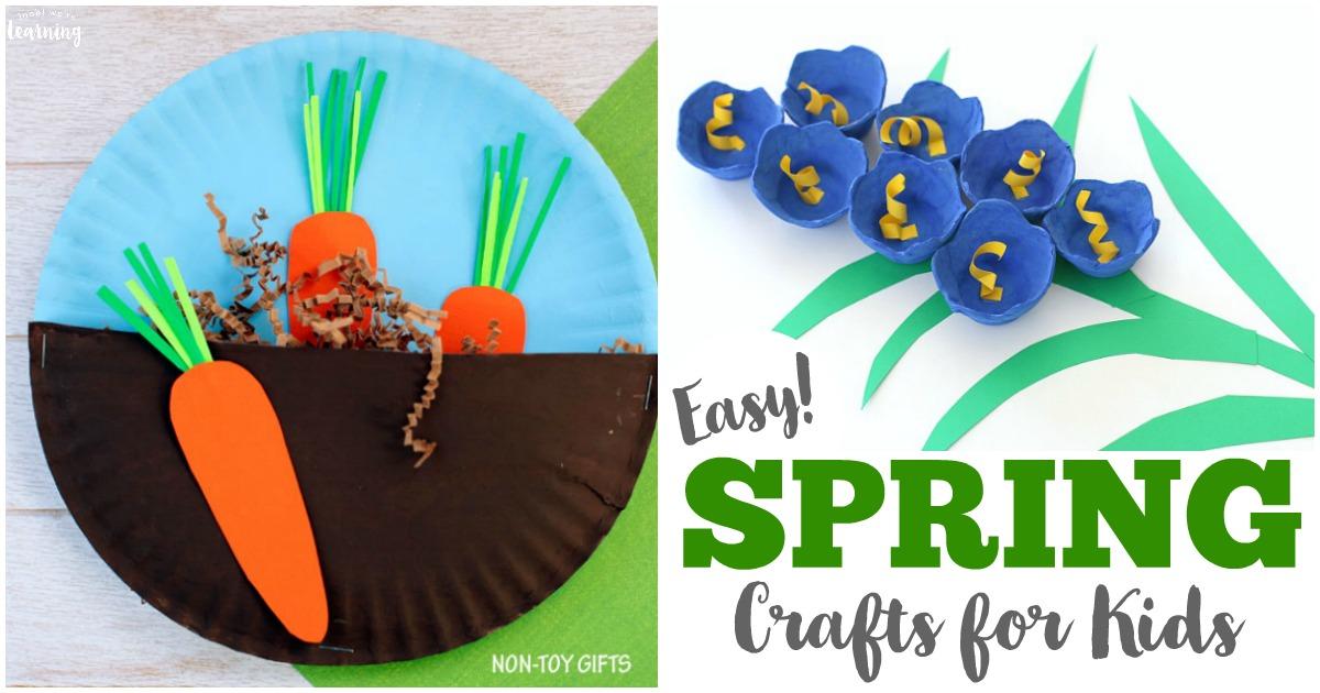 75 Easy Spring Crafts For Kids
