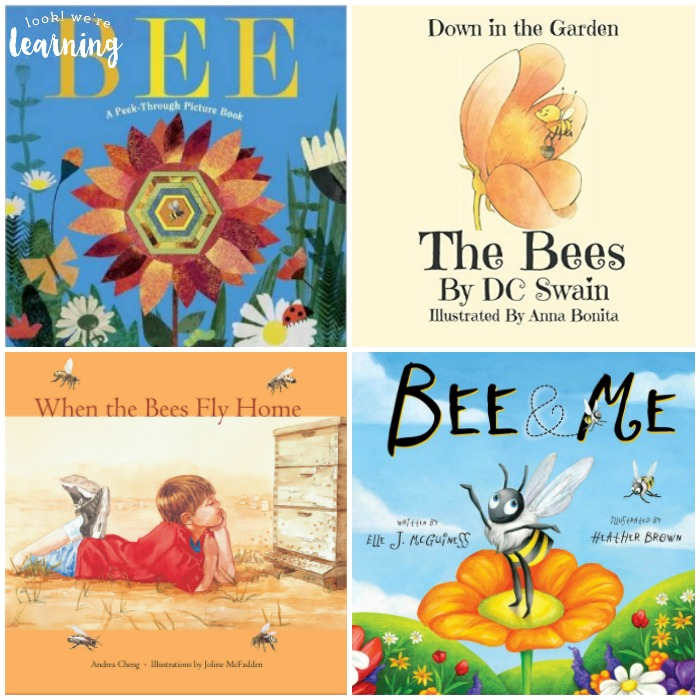 Beautiful Children's Books about Bees - Look! We're Learning!