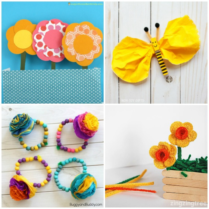 Easy Spring Crafts for Kids to Make