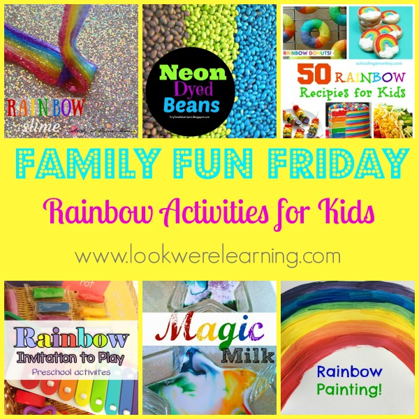 Rainbow Activities for Kids