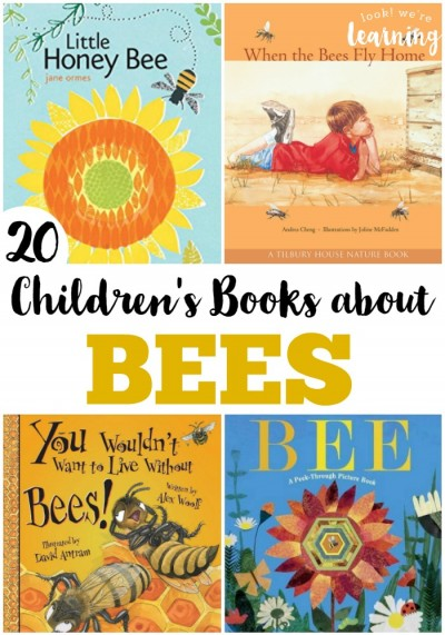 These beautiful children's books about bees are a wonderful way to learn about these amazing insects!