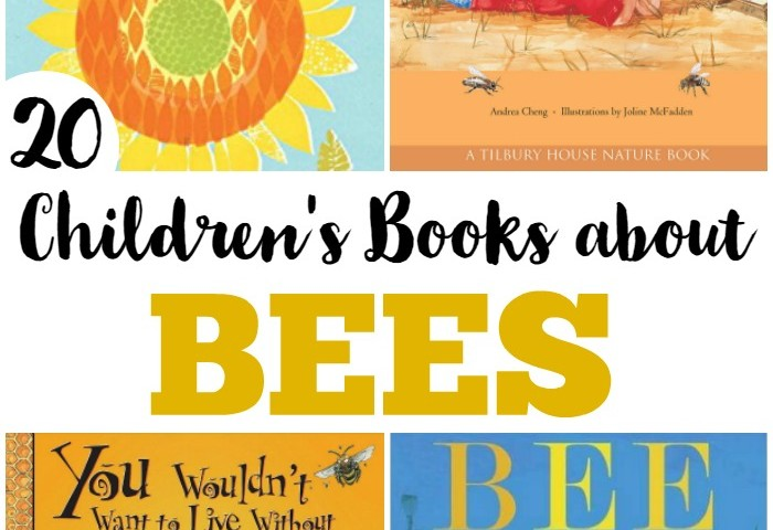 Beautiful Children's Books about Bees
