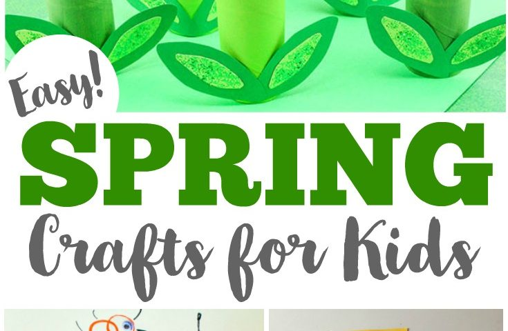 75 Easy Spring Crafts for Kids