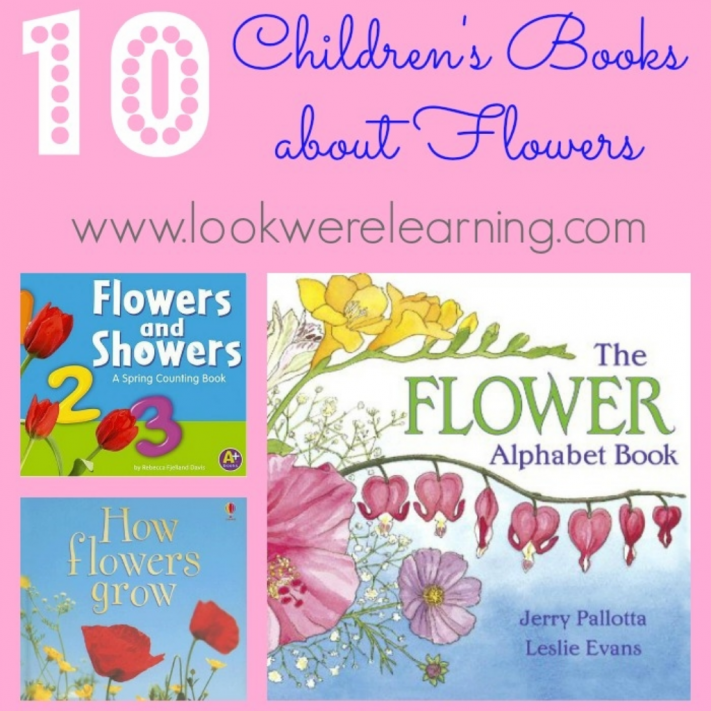 Beautiful Books about Flowers for Kids