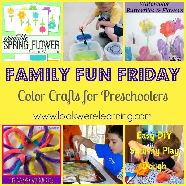 Color Crafts for Preschoolers