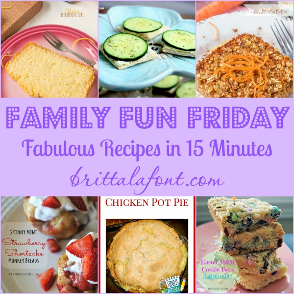 Fabulous Recipes in 15 min or less FFF