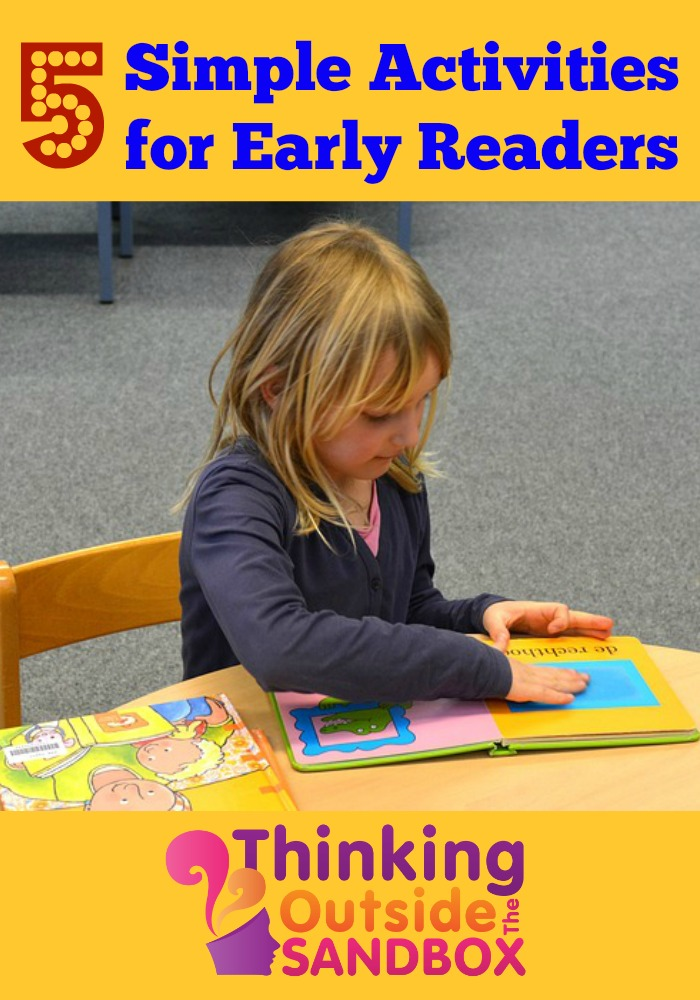 Five Simple Activities for Early Readers