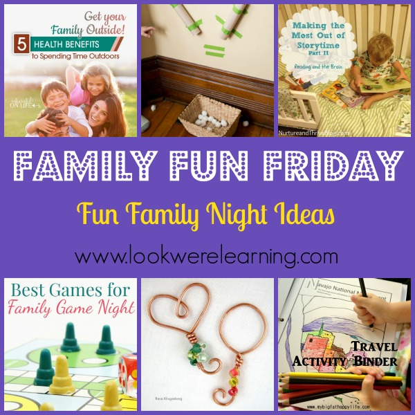 Fun Family Night Ideas Look We Re Learning