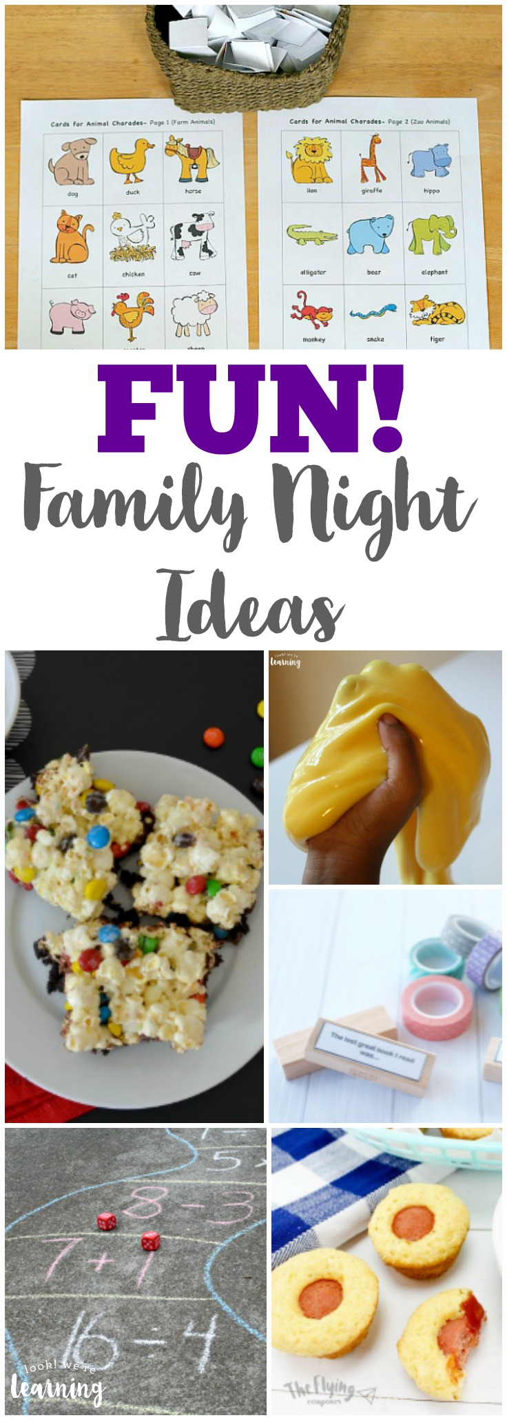 Plan an awesome evening in with these fun family night ideas you can share together!