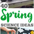 These spring science ideas are wonderful for teaching science to the kids this year!