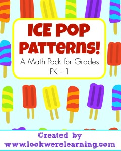 Ice Pop Patterns Title