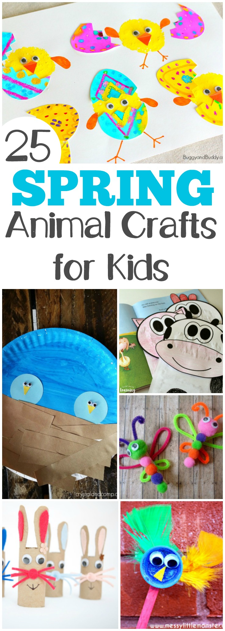 30 Adorable Spring Animal Crafts And Activities Look We Re Learning