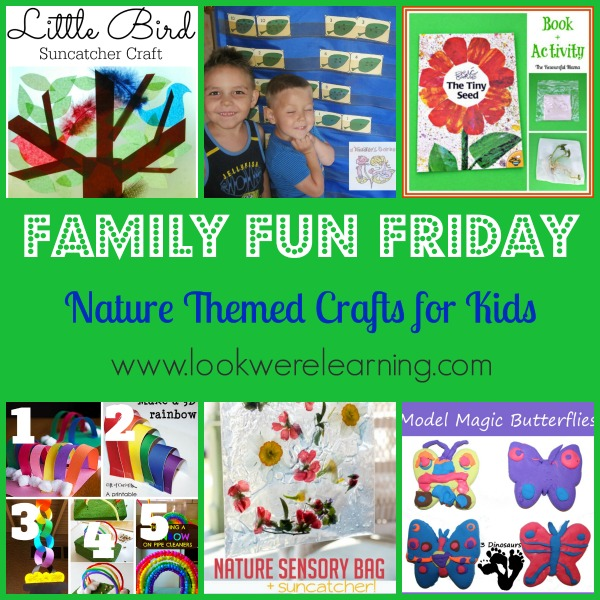 Nature Themed Crafts for Kids