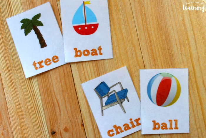 Printable Summer Sight Word Flashcards for Kids