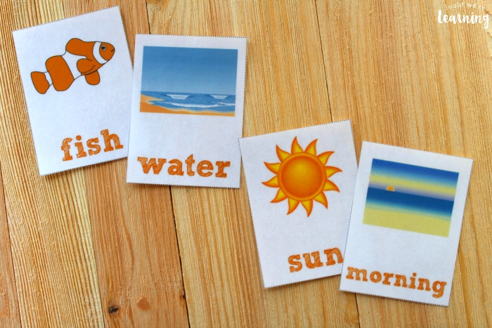 Printable Summer Sight Word Flashcards