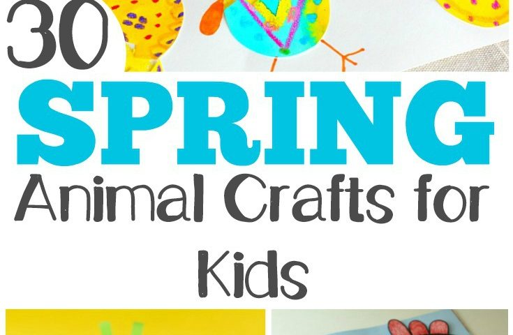 30 Adorable Spring Animal Crafts and Activities