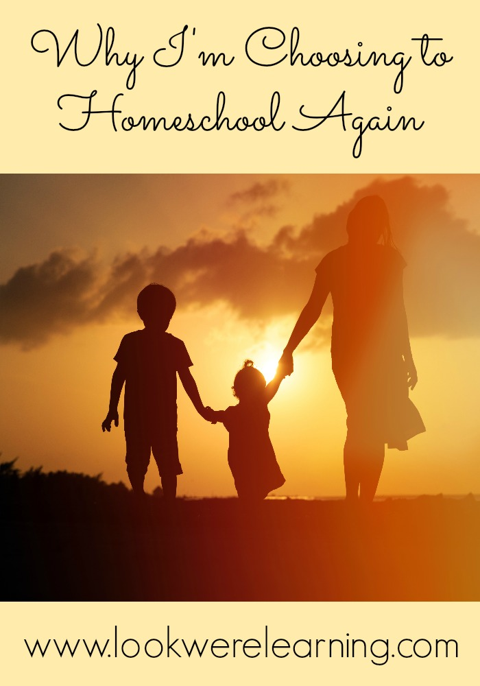 Why I'm Returning to Homeschooling