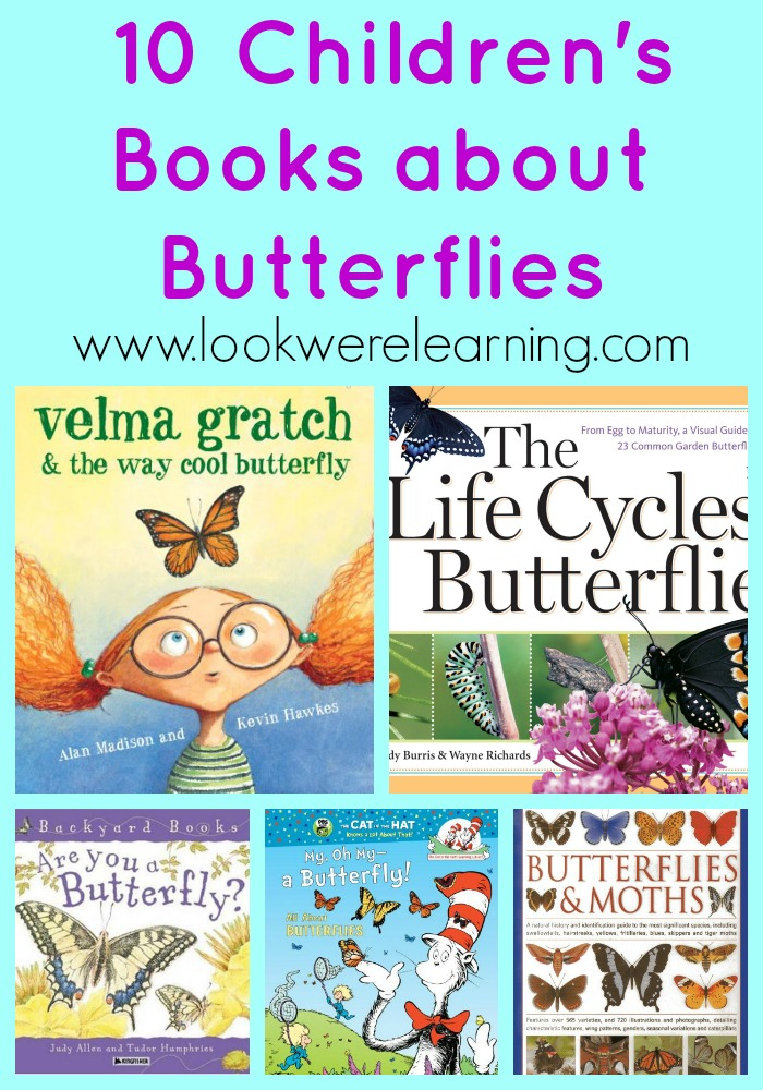 Lovely Children's Books about Butterflies