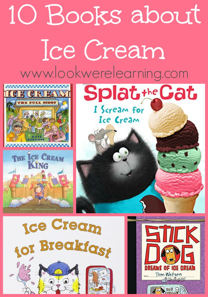 10 Kids Books about Ice Cream
