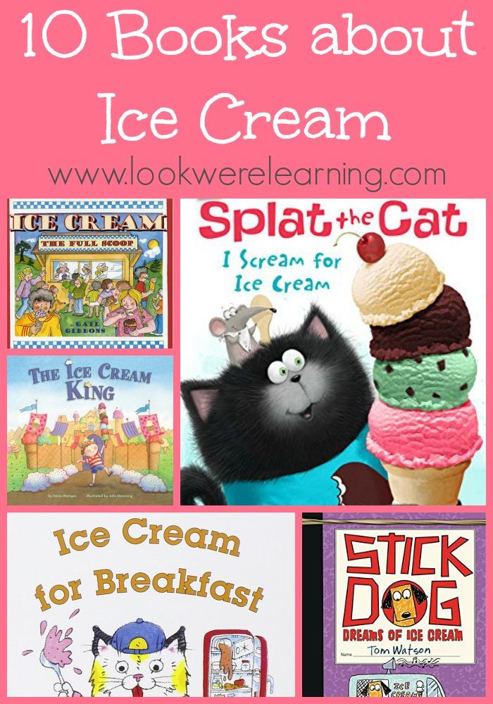 10 Kids Books about Ice Cream