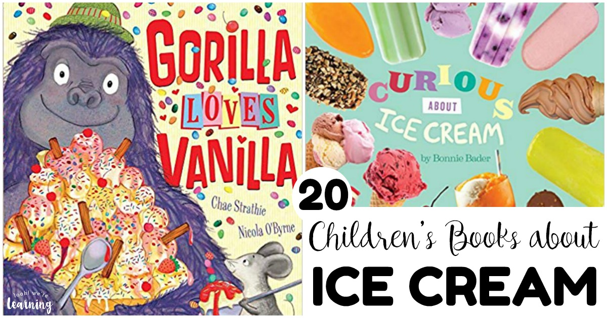 20 Books about Ice Cream for Kids