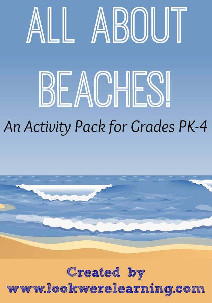 FREE All About Beaches Printable Pack from www.lookwerelearning.com