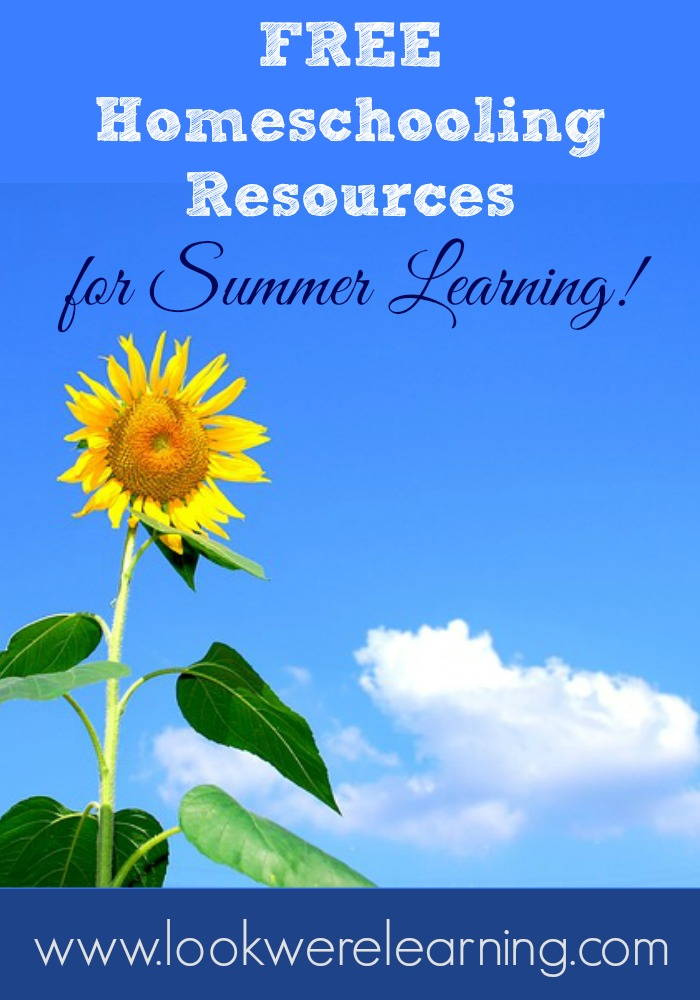 Free Homeschooling Resources for Summer Learning