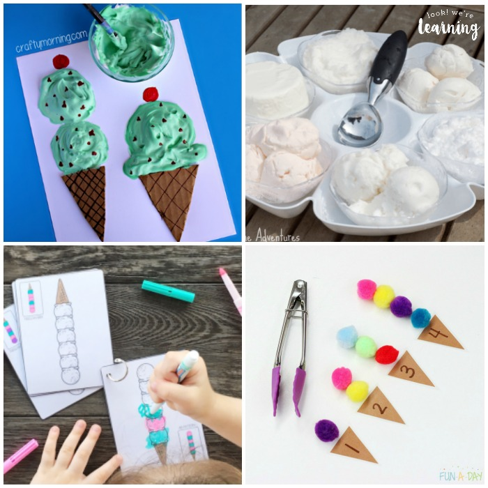Ice Cream Activities for Kids