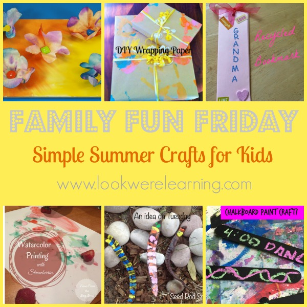 Simple Summer Crafts for Kids
