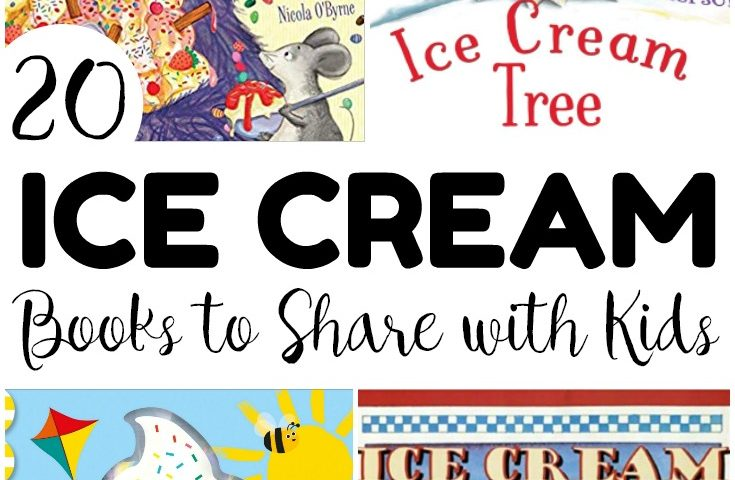 20 Fun Books about Ice Cream for Kids