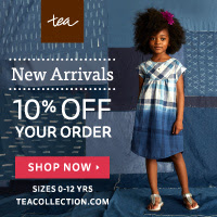 Shop Summer Styles at the Tea Collection Sale!