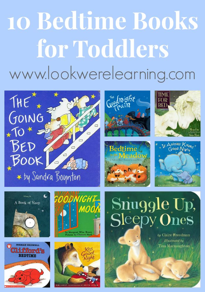 10 Bedtime Books for Toddlers