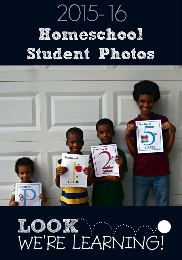 Homeschool Student Photos