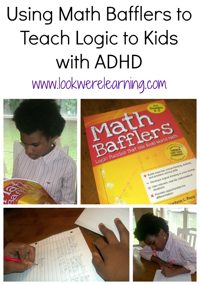 Using Math Bafflers to Introduce Logic to Kids with ADHD