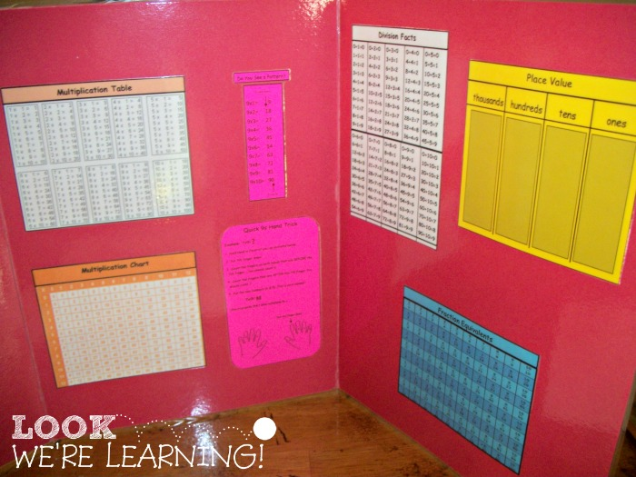 Teaching Math with Math Mini Office Lapbooks