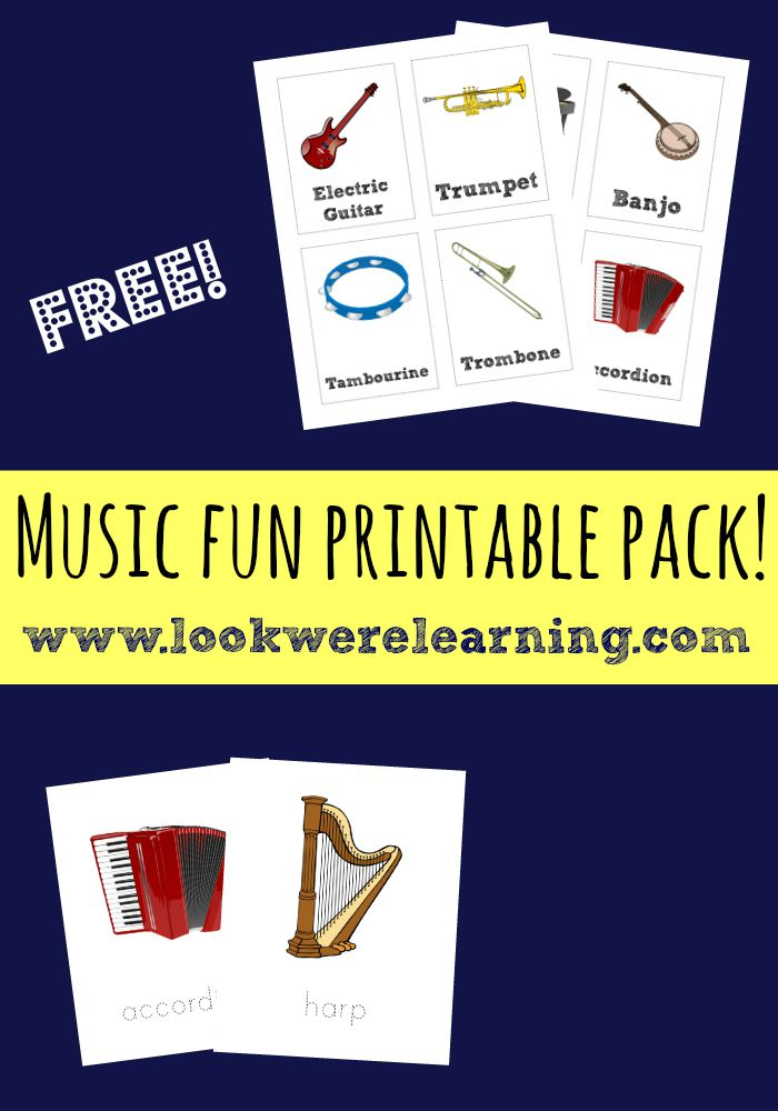 Music Fun Printable Pack