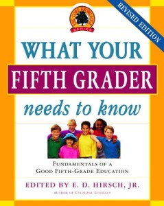 What Fifth Grader Needs to Know