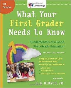 What First Grader Needs to Know